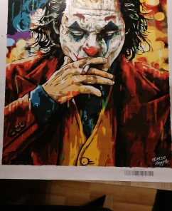 Joker Paint By Number l My Art Hour