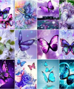Butterfly Paint By Numbers | My Art Hour