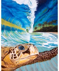 sea turtle paint by numbers | My Art Hour