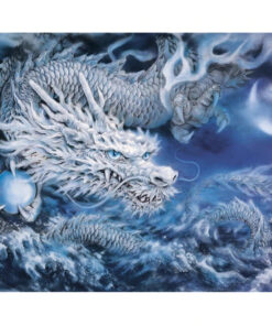 White Dragon Paint By Numbers | My Art Hour