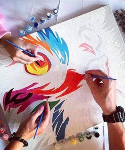Swan Paint By Numbers | My Art Hour