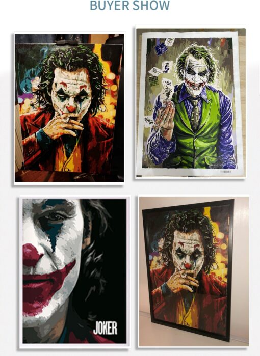Joker And Harley Quinn Paint By Numbers | My Art Hour