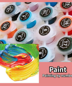 Guitar Paint By Numbers | My Art Hour