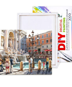 Italy Paint By Numbers | My Art Hour