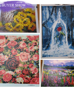 Flowers Paint By Numbers | My Art Hour