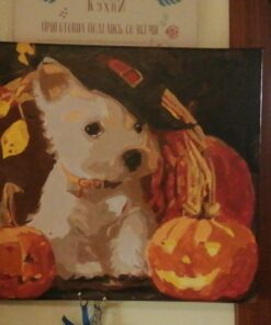 Dog Paint By Numbers | My Art Hour
